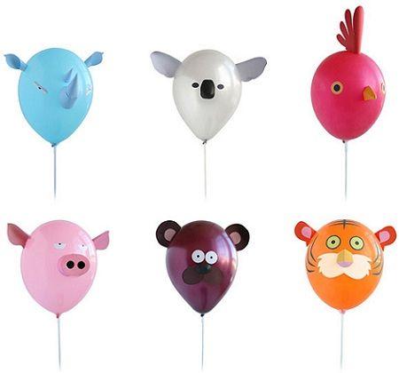 decoracion globos animales