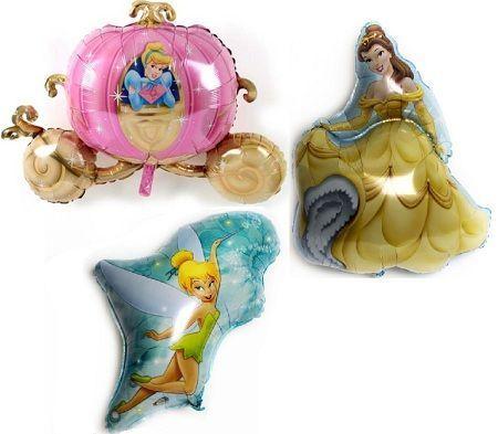 decoracion globos princesas