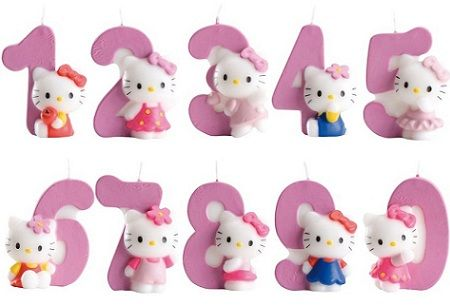 velas kitty numeros