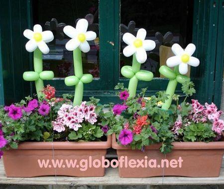 animacion globoflexia flores