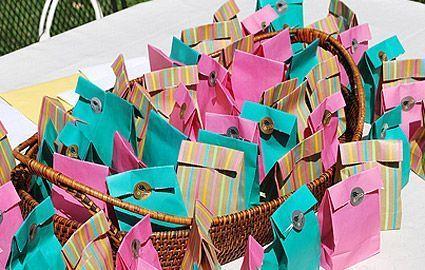 Como hacer bolsas para sorpresas de cumpleaños - Imagui