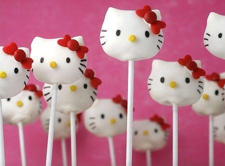 cake pops kitty