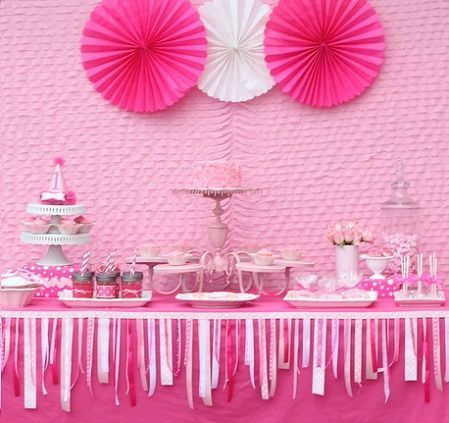 Ideas de cumpleanos on pinterest recetas fiestas and - Mesas para ninas ...