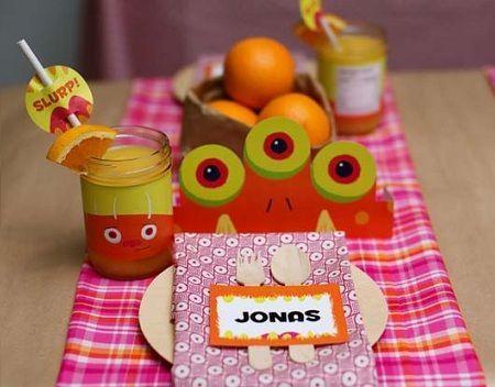 decoracion-mesa-cumpleanos-monstruos-plato