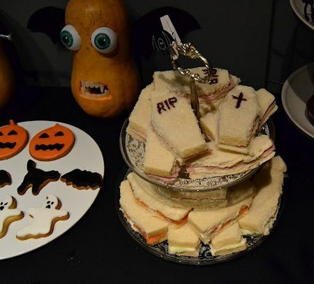 fiesta halloween sandwiches