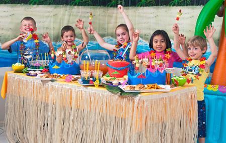 Fiesta infantil hawaiana