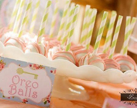 fiesta jardin secreto cake pops