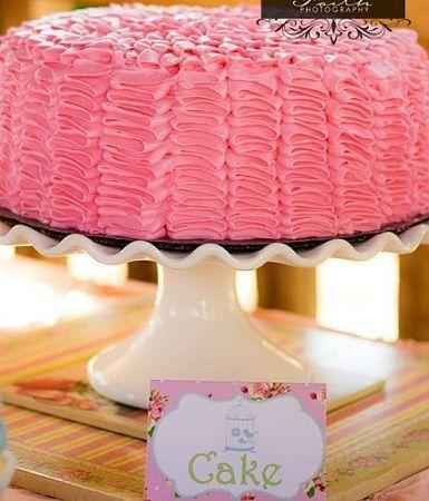 fiesta jardin secreto pastel