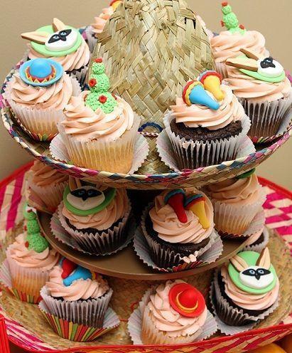 fiesta mexicana cupcakes
