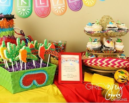 fiesta mexicana dulces