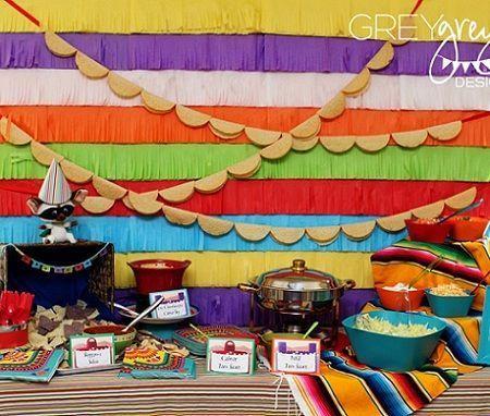 fiesta mexicana mesa
