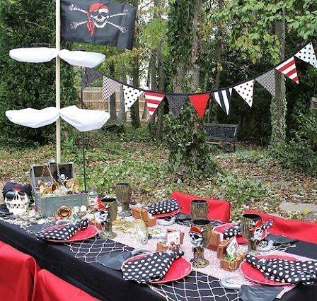 fiesta pirata mesa