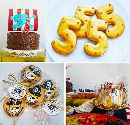fiesta pirata tarta
