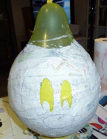 hacer pinata globo