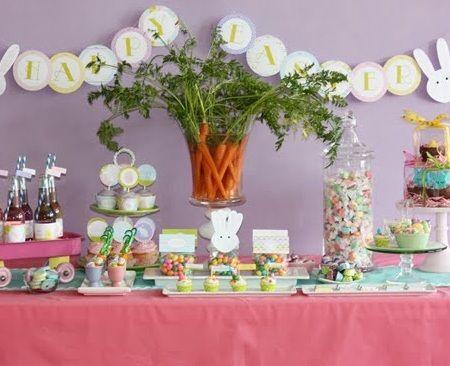 Ideas para preparar una fiesta de pascua infantil - Ideas fiestas tematicas ...