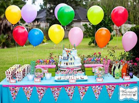 mesa cumpleaños infantil