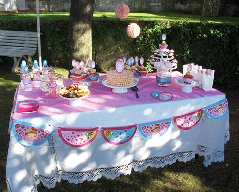 mesa cumpleaños infantil niñas