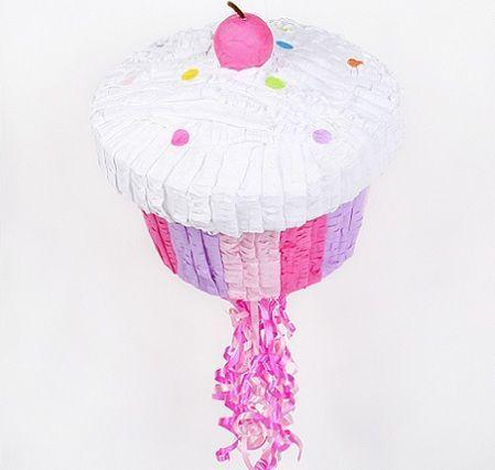 pinatas infantiles cupcake