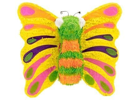 pinatas infantiles mariposa colores