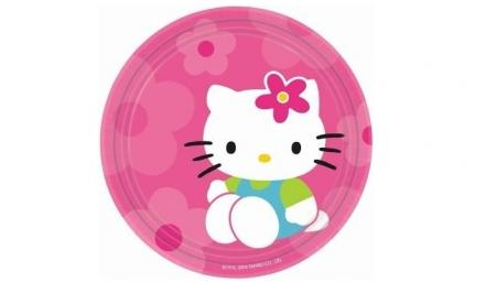 platos hello kitty