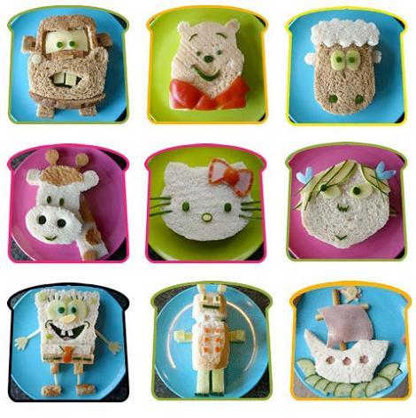 recetas fiestas infantiles sandwiches