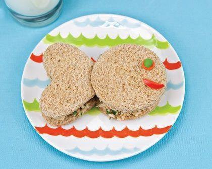 recetas sandwiches formas peces