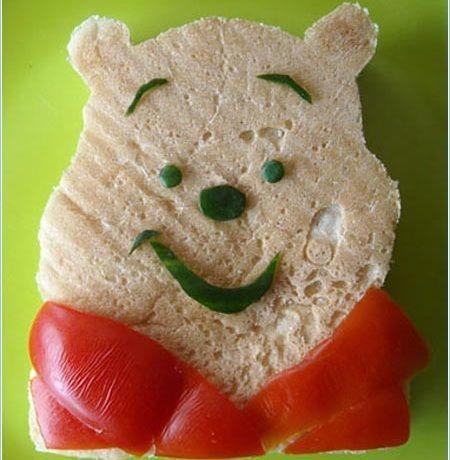 recetas sandwiches formas winnie