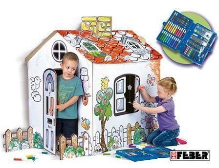 regalos cumpleanos casita pintar