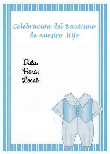tarjetas bautizo azul