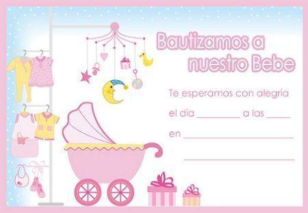 Invitaciones Para Bautizos