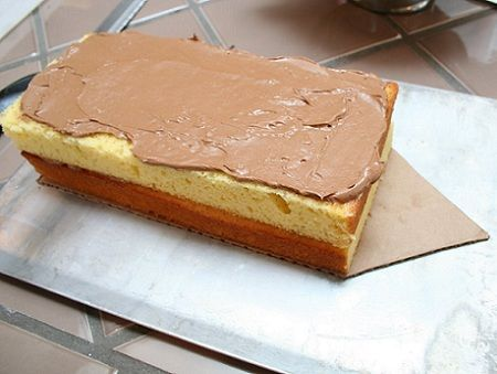 tarta cumpleanos pirata bizcocho chocolate
