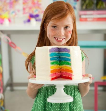 tarta rainbow o arcoiris
