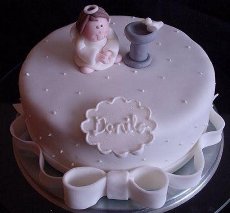 tartas comunion blanca
