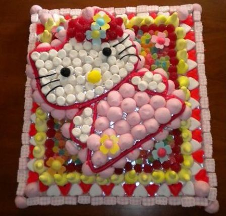 tartas gominolas hello kitty