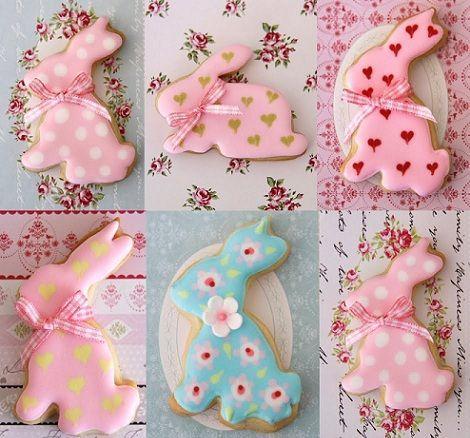 cookies pascua conejos