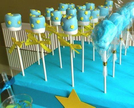 cumpleanos el principito cake pops