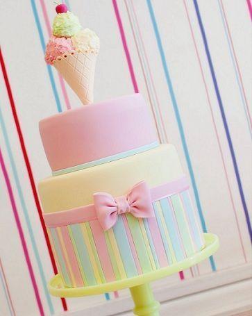cumpleanos helados tarta