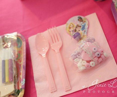 fiesta cumpleanos princesas bolsitas