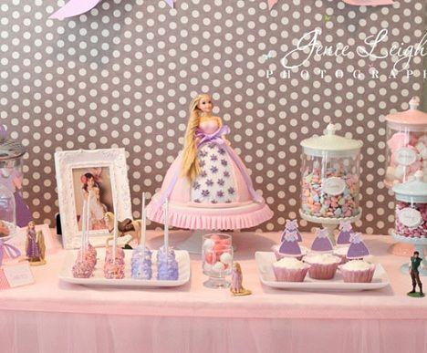 fiesta cumpleanos princesas dulces