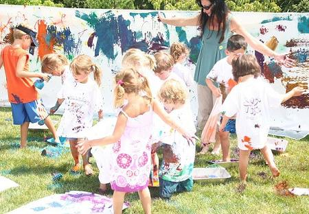 Fiesta de pintar