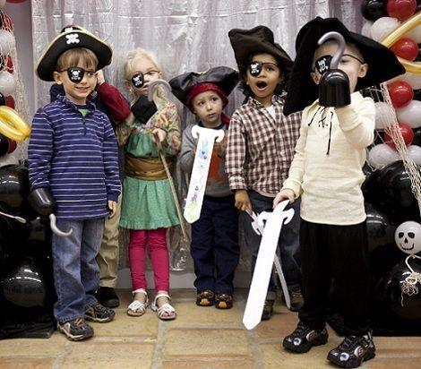 fiesta pirata ninos