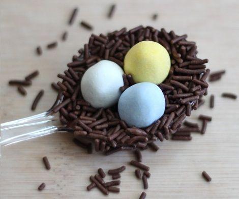 huevos pascua receta nido