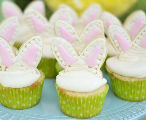 ideas mesa pascua cupcakes