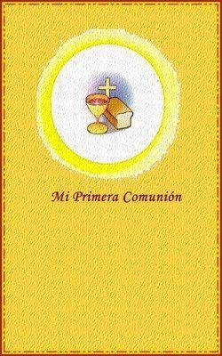 invitaciones comunion imprimir gratis amarilla