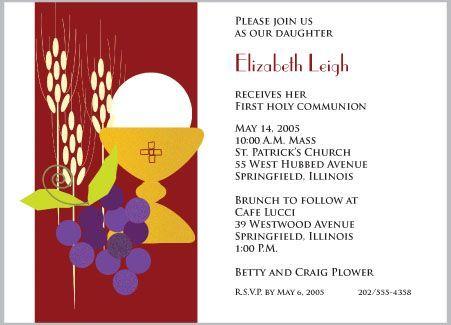 invitaciones de primera comunion modernas
