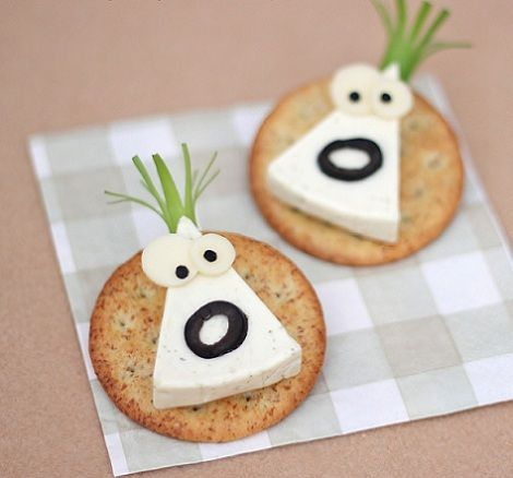 recetas infantiles canapes quesitos