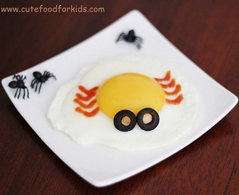 recetas infantiles huevo arana