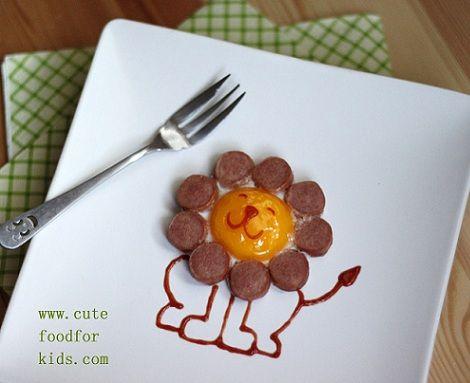 recetas infantiles huevo leon