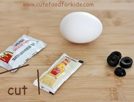 recetas infantiles huevo mostaza