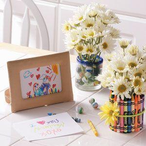 regalo dia de la madre floreros
